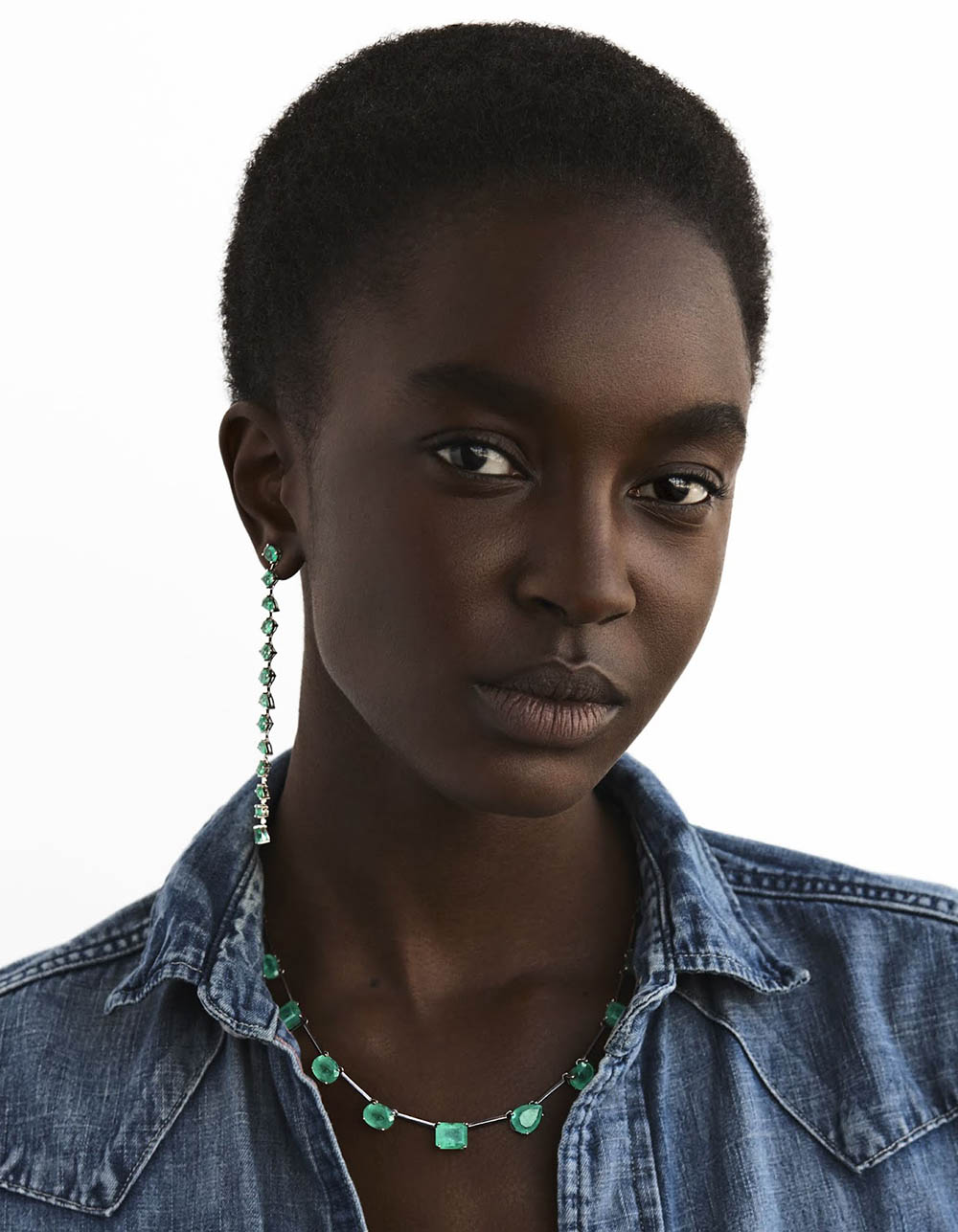 Nicole Atieno by Vanina Sorrenti for Vogue Poland July/August 2018