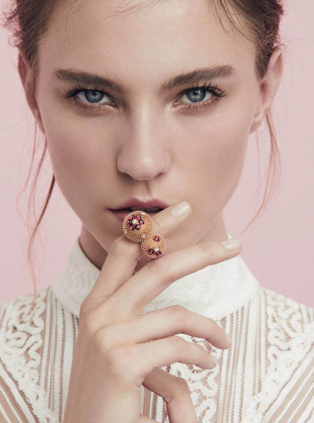Nicole Pollard by Lara Jade for Harper's Bazaar UK July 2018