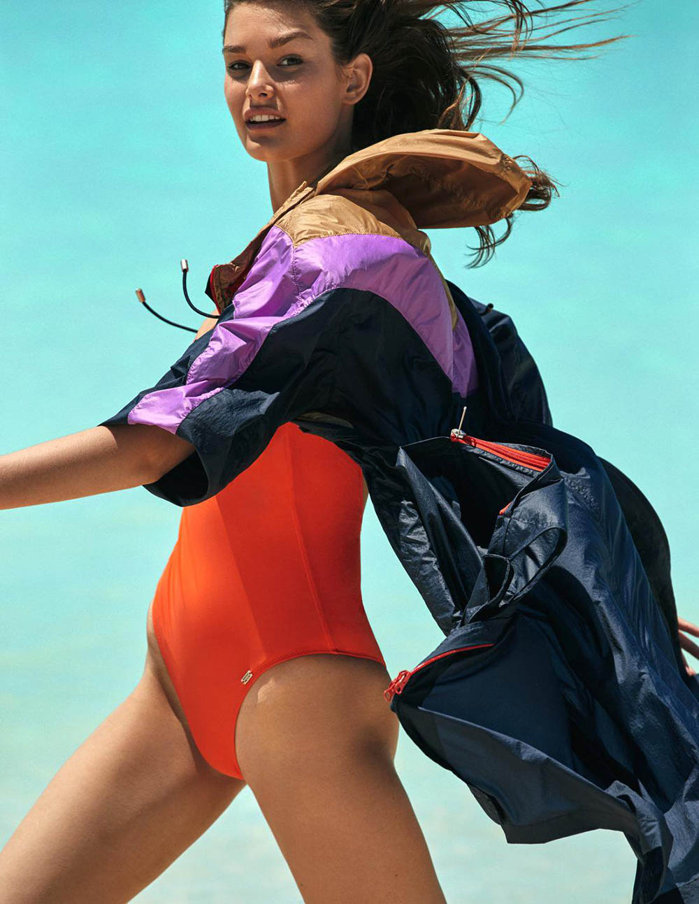 Ophelie Guillermand covers Madame Figaro Summer 2018 by David Roemer