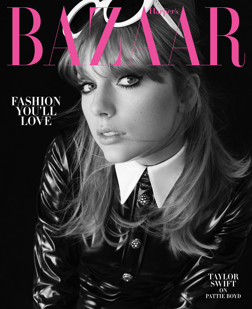 Taylor Swift covers Harper's Bazaar US August 2018 by Alexi Lubomirski