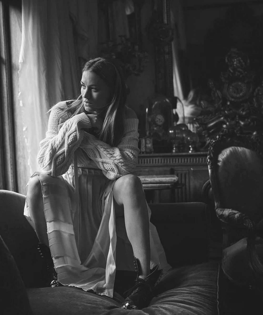 Yvonne Strahovski by Philippa Moroney for Vogue Australia July 2018