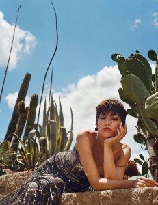 Úrsula Corberó by Gorka Postigo for Vogue Spain August 2018