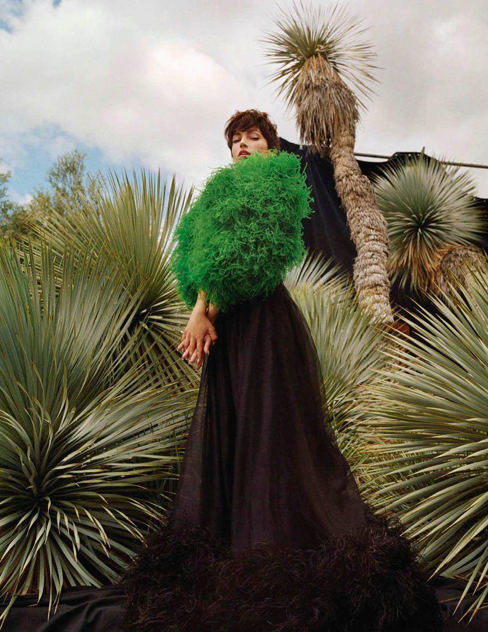 Úrsula Corberó by Gorka Postigo for Vogue Spain August 2018