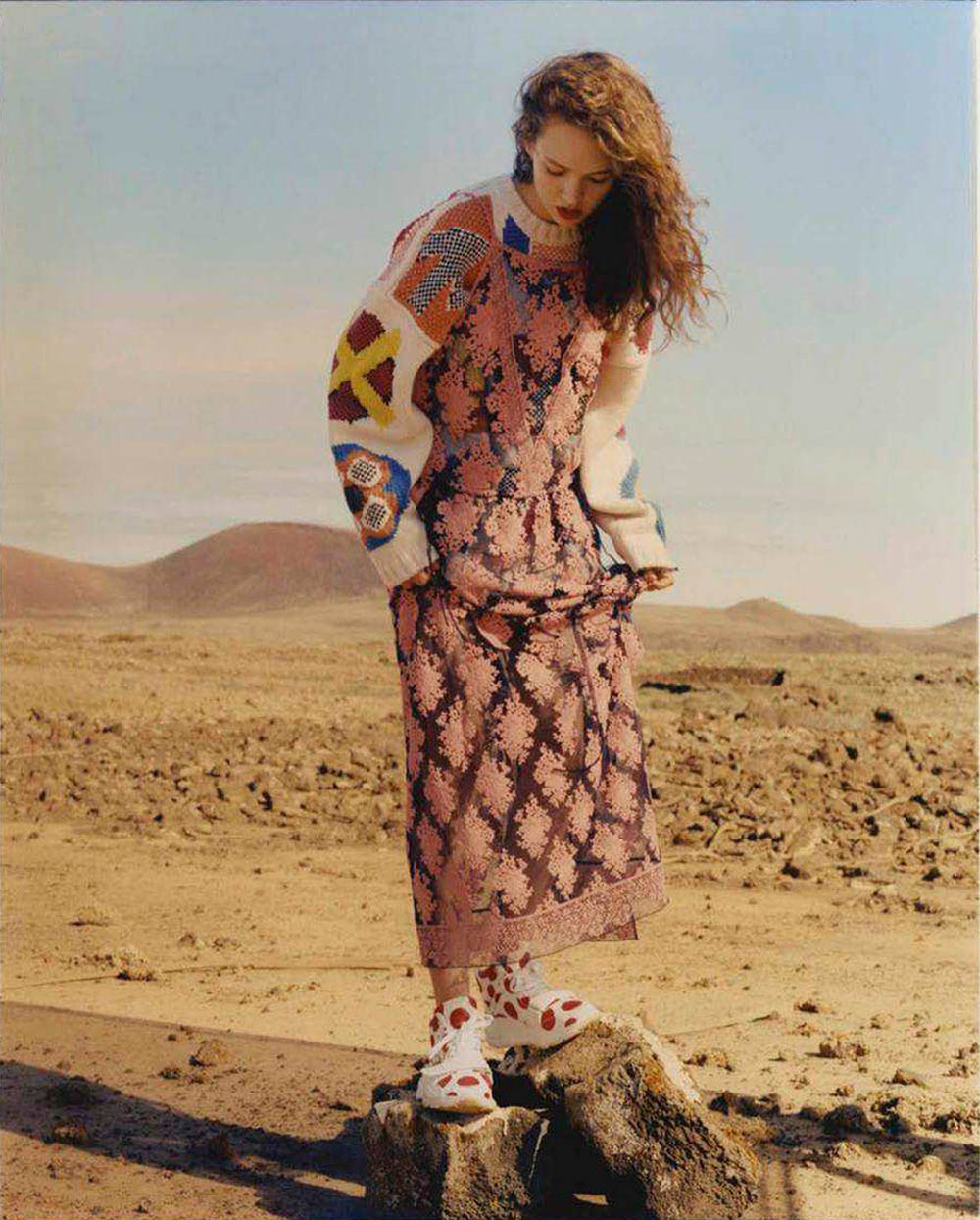 Adrienne Jüliger by Jens Ingvarsson for Vogue Spain August 2018