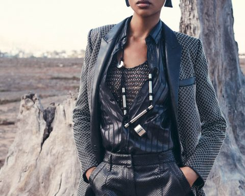 Aya Jones by Stefano Galuzzi for Porter Magazine Fall 2018