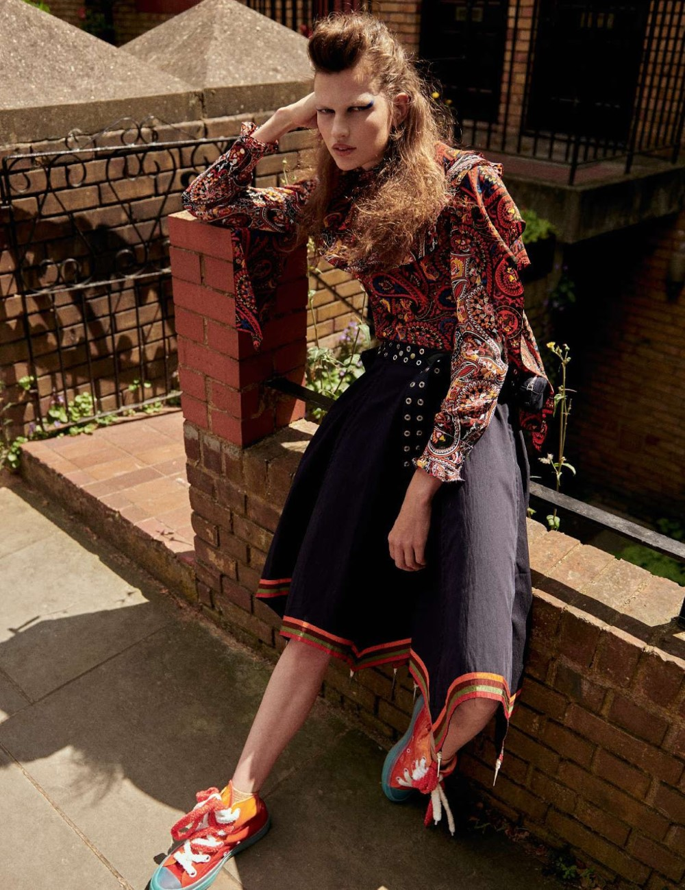 Bette Franke covers Elle France August 24th, 2018 by Sam Hendel