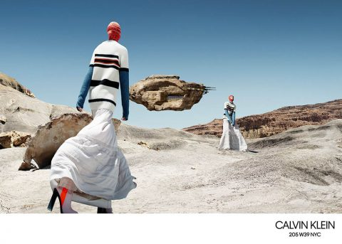 Calvin Klein 205W39NYC Fall Winter 2018 Campaign