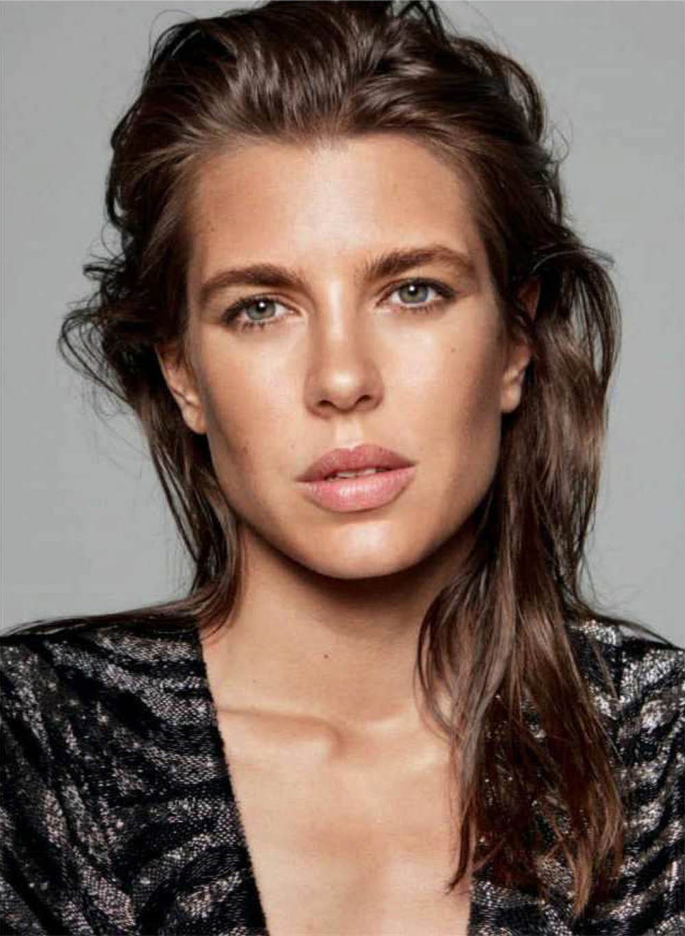Charlotte Casiraghi covers Vogue Germany September 2018 by Daniel Jackson