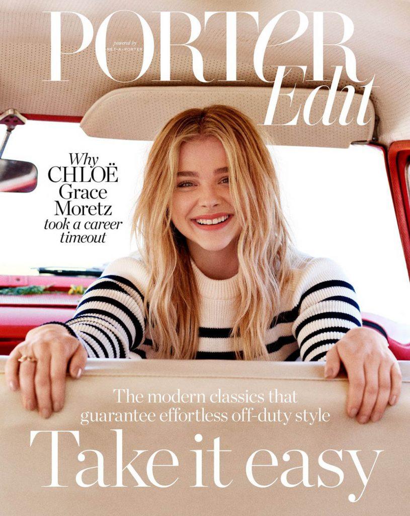 Chloë Grace Moretz covers Porter Edit August 17th, 2018 by Bec Lorrimer