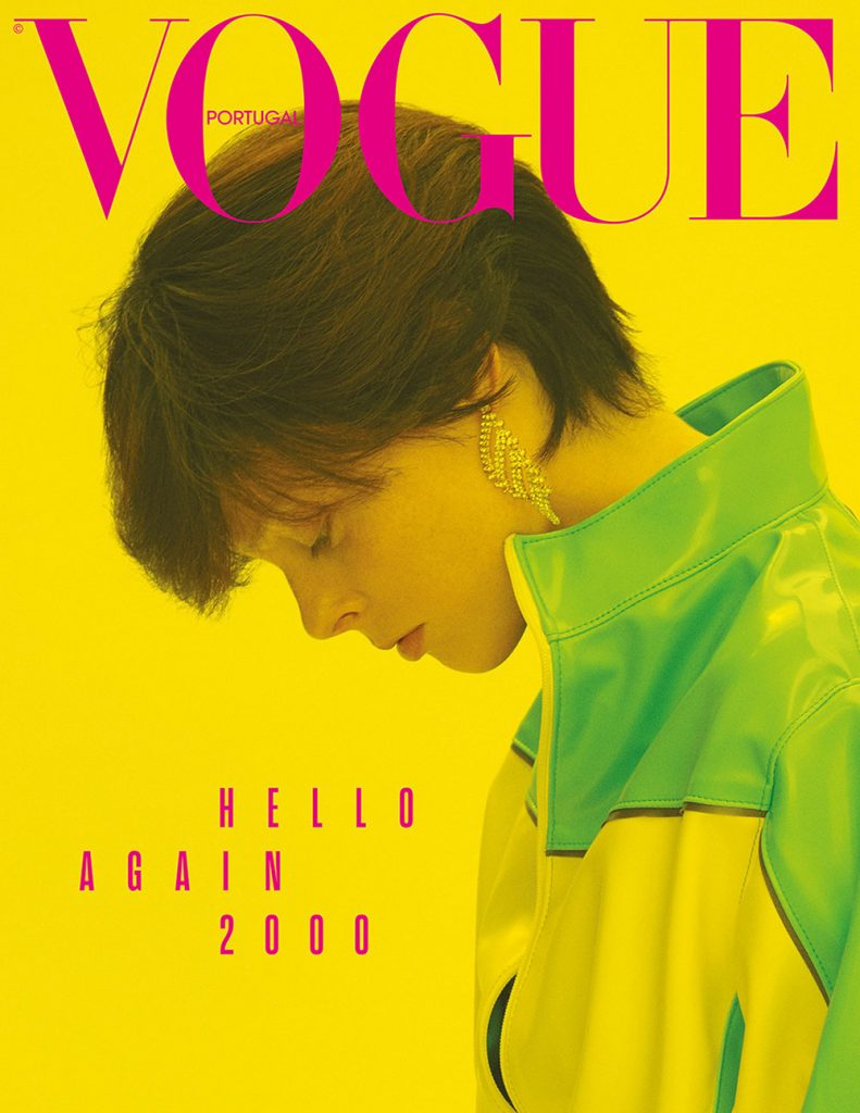 Coco Rocha covers Vogue Portugal August 2018 by Branislav Simoncik