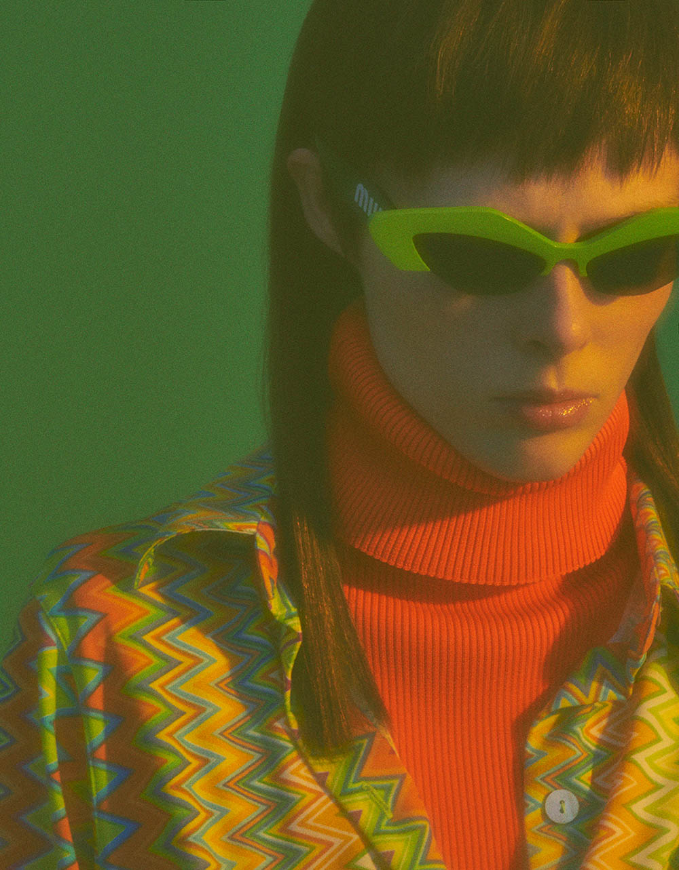 Coco Rocha covers Vogue Portugal August 2018 by Branislav Simoncik