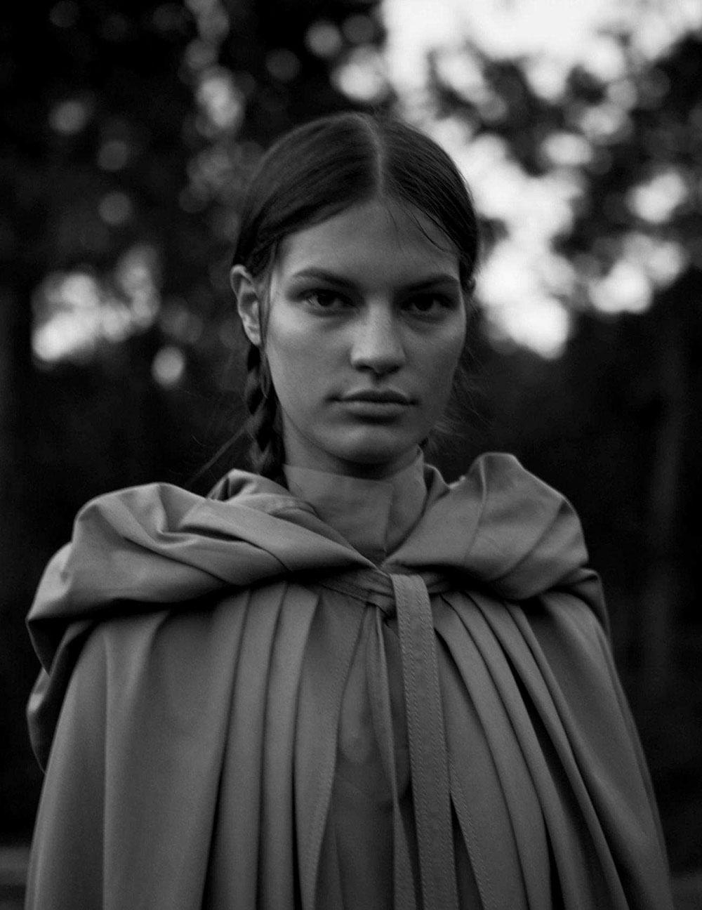Faretta Radic covers Vogue Spain August 2018 by Camilla Akrans