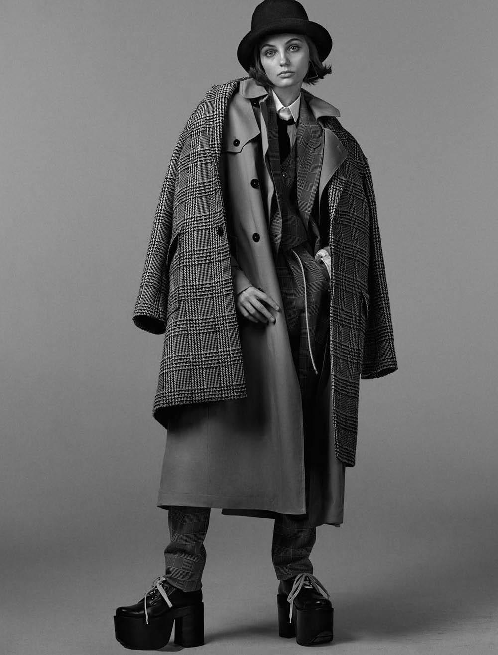 Fran Summers by Christian MacDonald for Vogue Paris August 2018