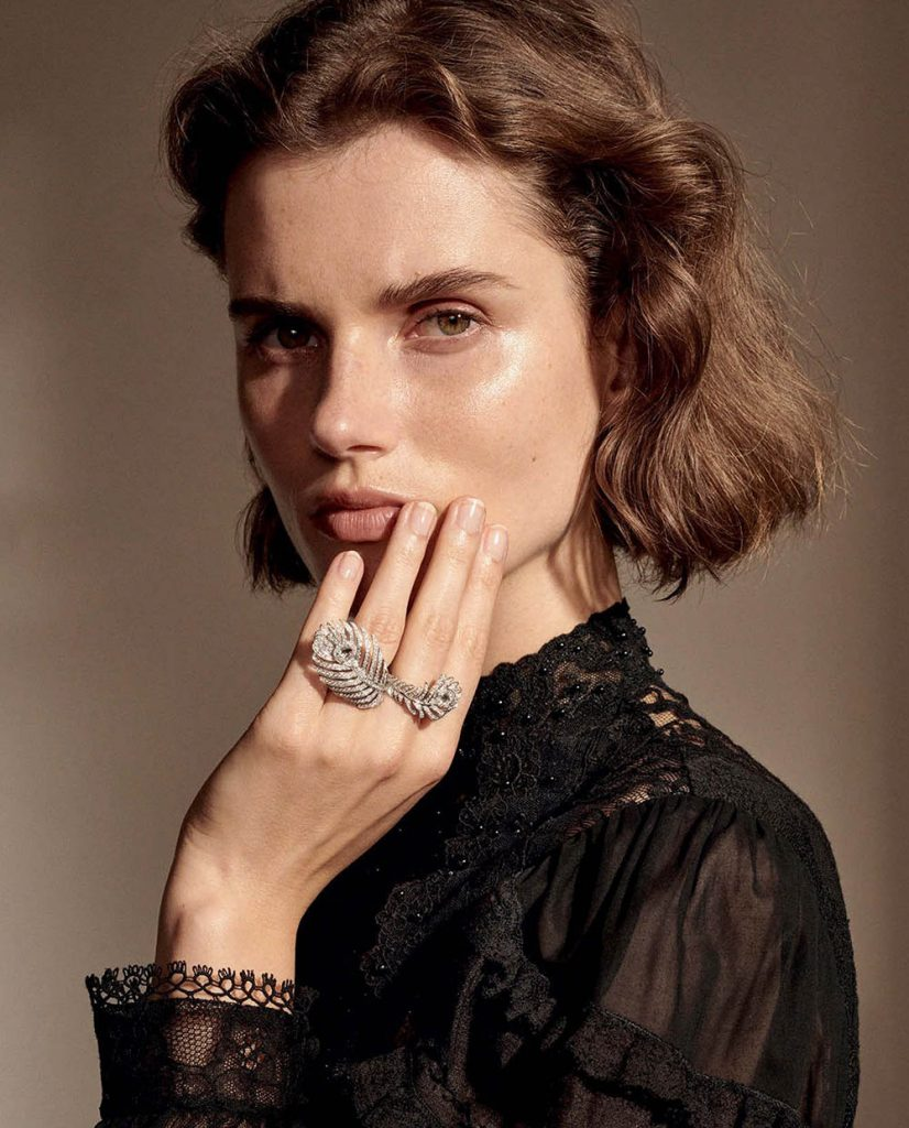 Giedre Dukauskaite by Alexandra Nataf for Porter Magazine Fall 2018