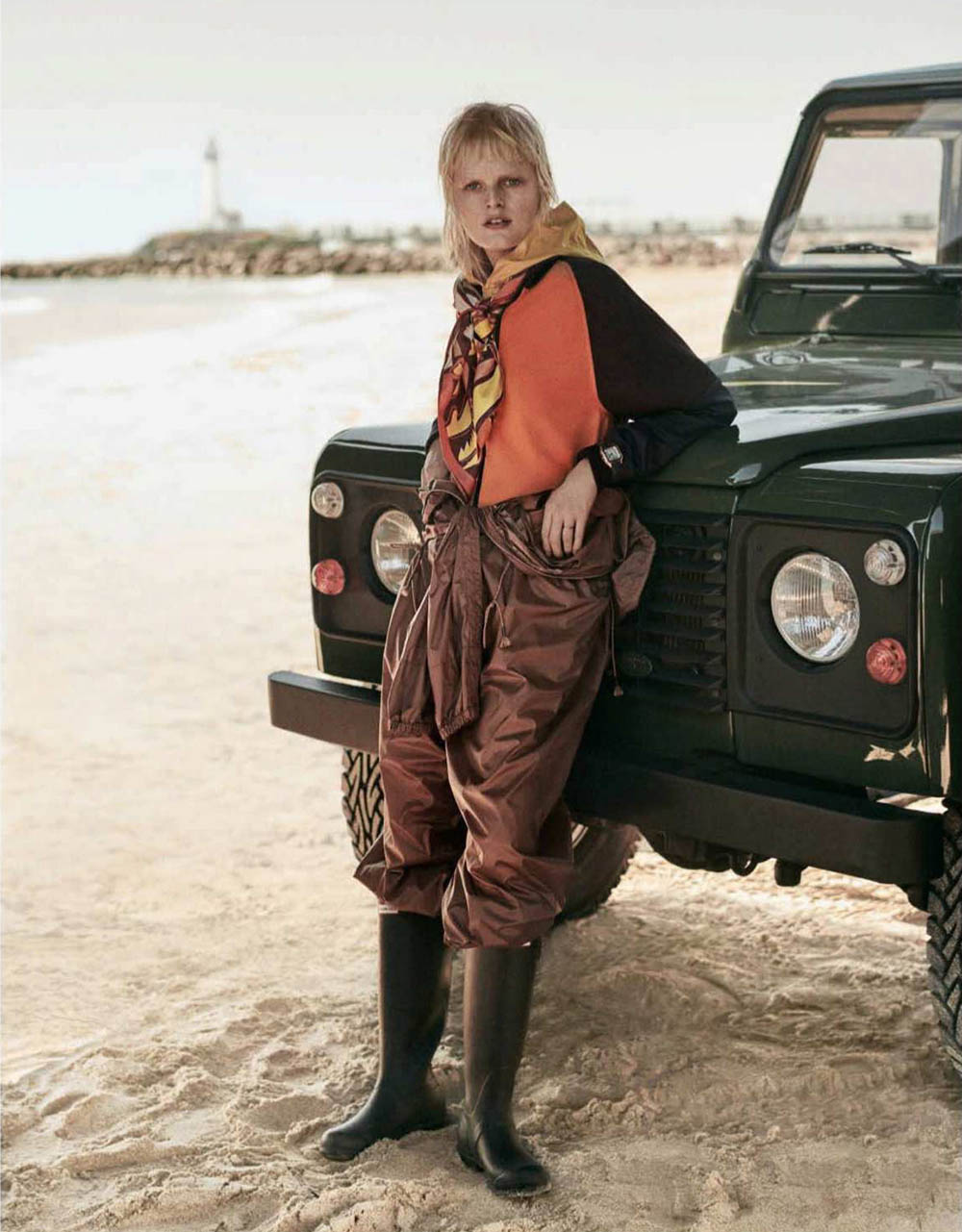 Hanne Gaby Odiele by Giampaolo Sgura for Vogue Germany September 2018
