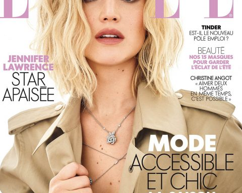 Jennifer Lawrence covers Elle France August 31st, 2018 by Mark Seliger