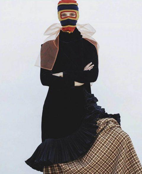 Jessie Bloemendaal by Sebastian Kim for Vogue Australia August 2018