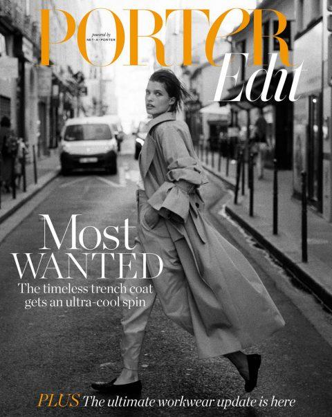 Julia van Os covers Porter Edit August 3rd, 2018 by Sebastian Sabal-Bruce