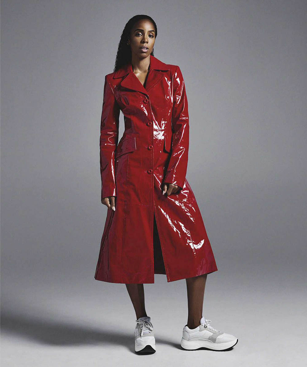Kelly Rowland by Jesse Lizotte for Vogue Australia August 2018