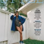 Laura Harrier covers The Sunday Times Style August 5th, 2018 by Matthew Sprout
