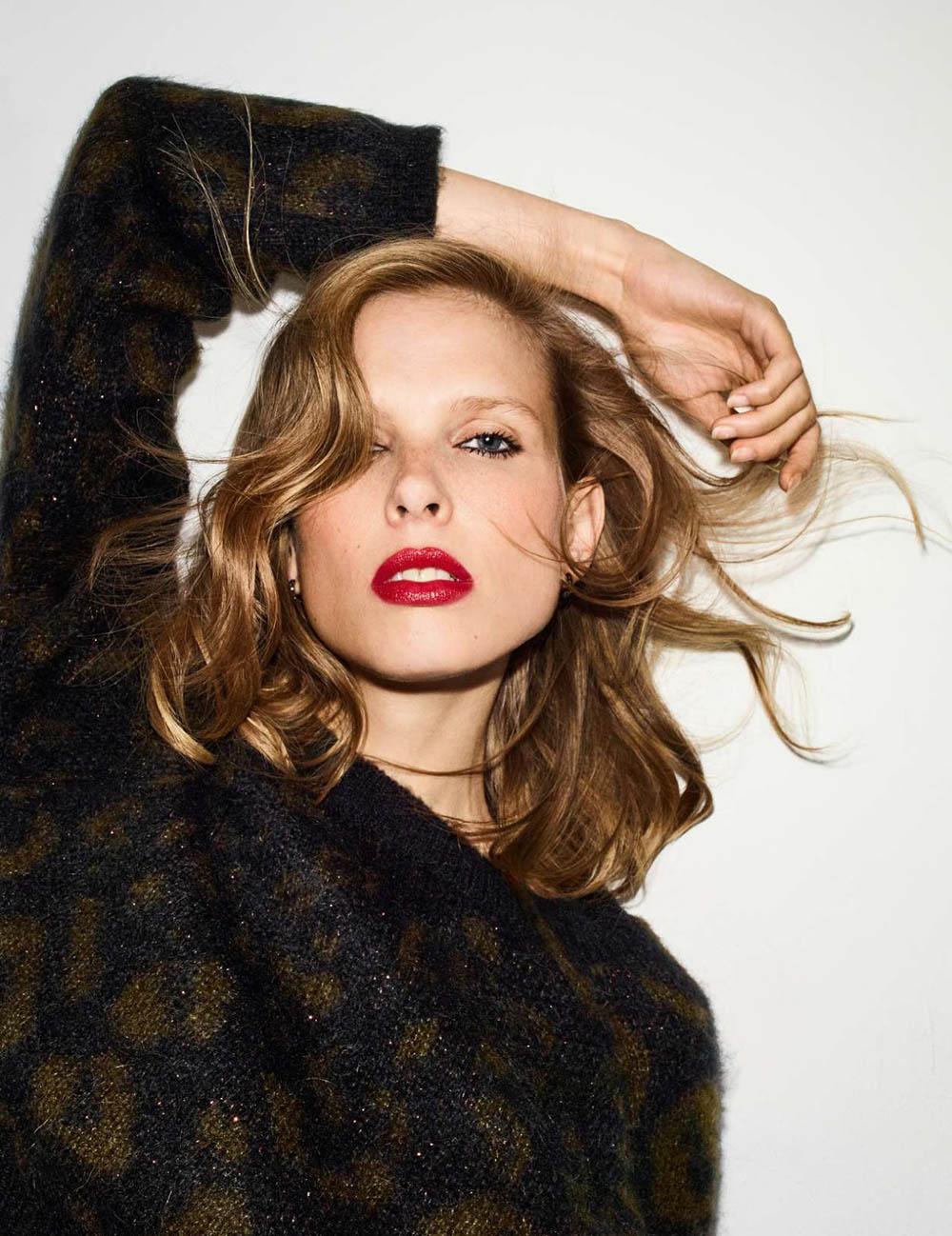 Lina Berg by Nik Hartley for Elle France August 31st, 2018