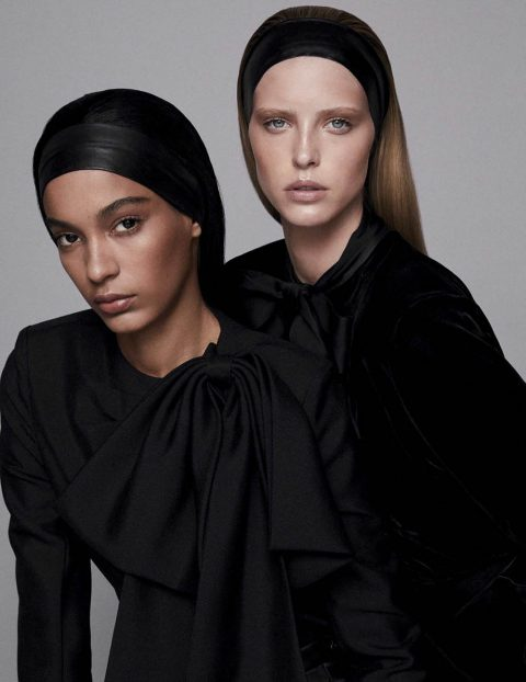 Luisana Gonzalez and Abby Champion by Alvaro Beamud for Vogue Spain August 2018