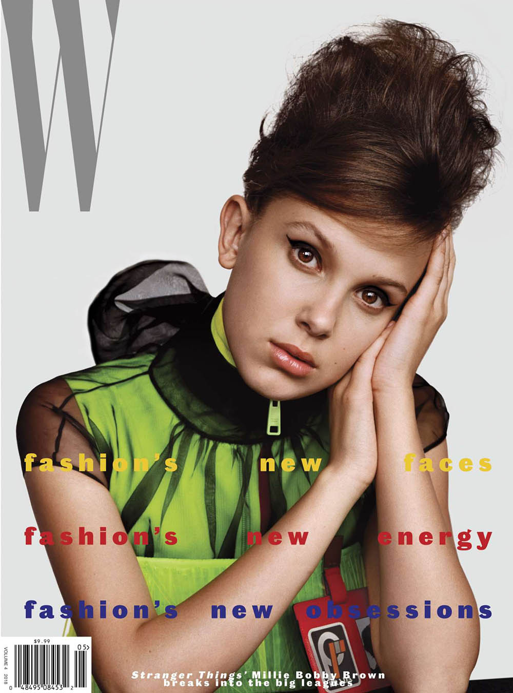 Millie Bobby Brown covers W Magazine Volume 4 2018 by Alasdair McLellan