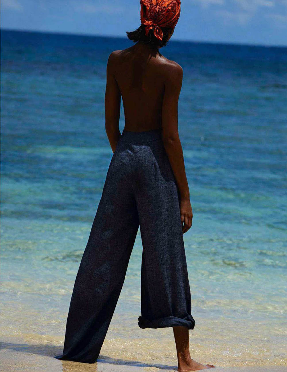 Naomi Chin Wing by Txema Yeste for Vogue Spain August 2018