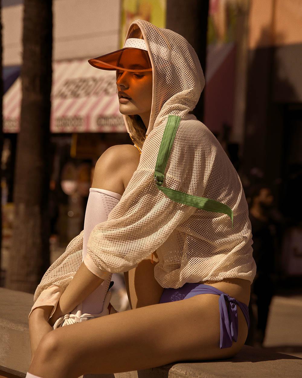 Paige Reifler by Andreas Ortner for Harper's Bazaar Czech August 2018