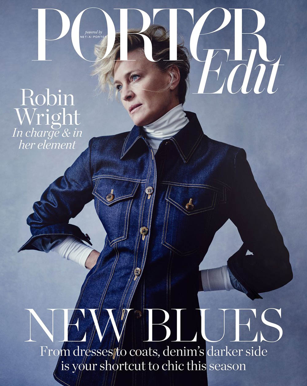 Robin Wright covers Porter Edit August 31st, 2018 by Boo George