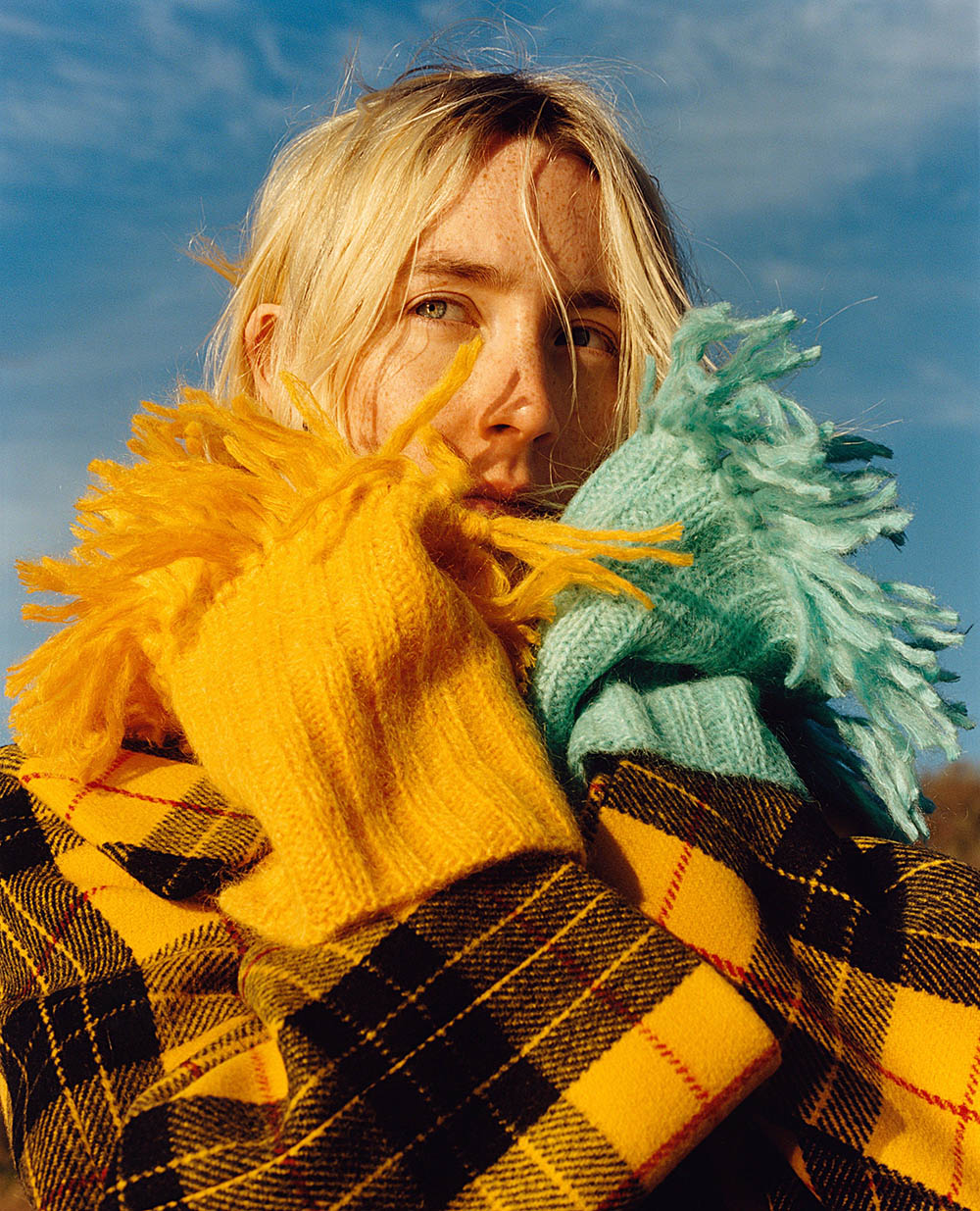 Saoirse Ronan covers Vogue US August 2018 by Jamie Hawkesworth