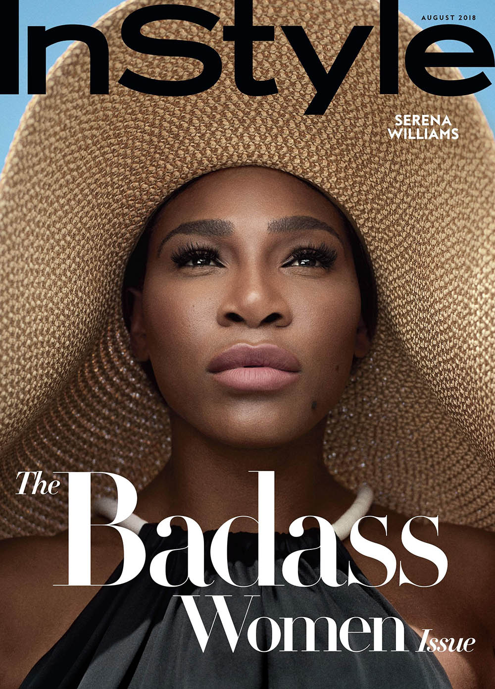 Serena Williams covers InStyle US August 2018 by Robbie Rimmano