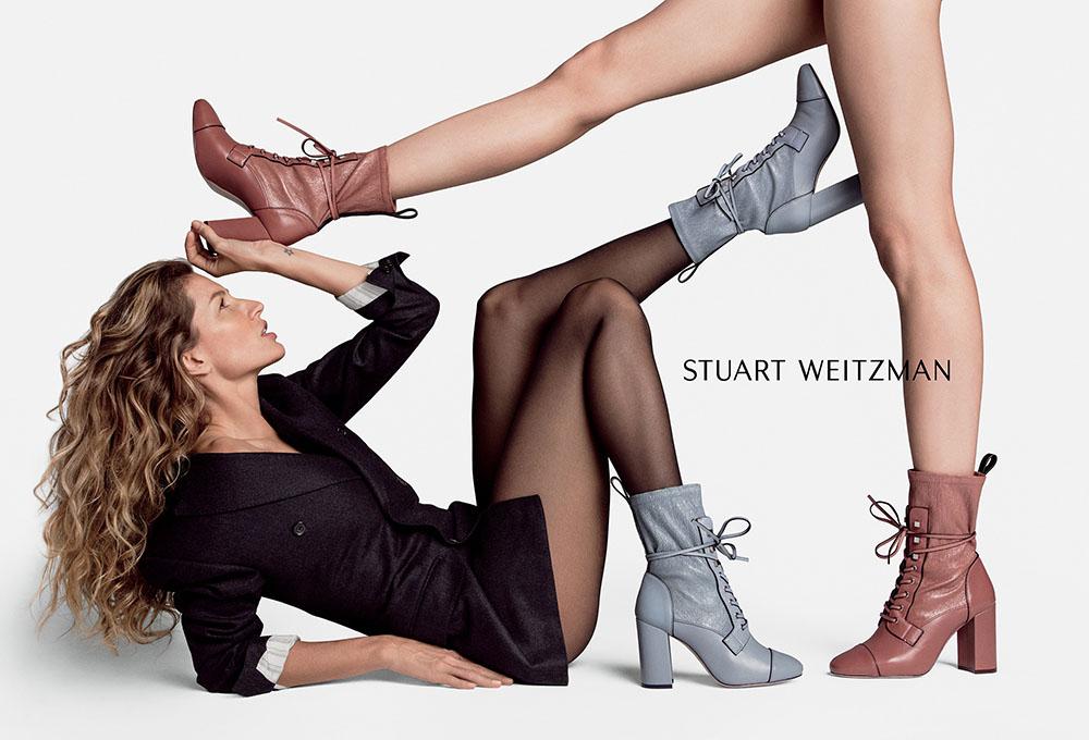 Stuart Weitzman Fall Winter 2018 Campaign