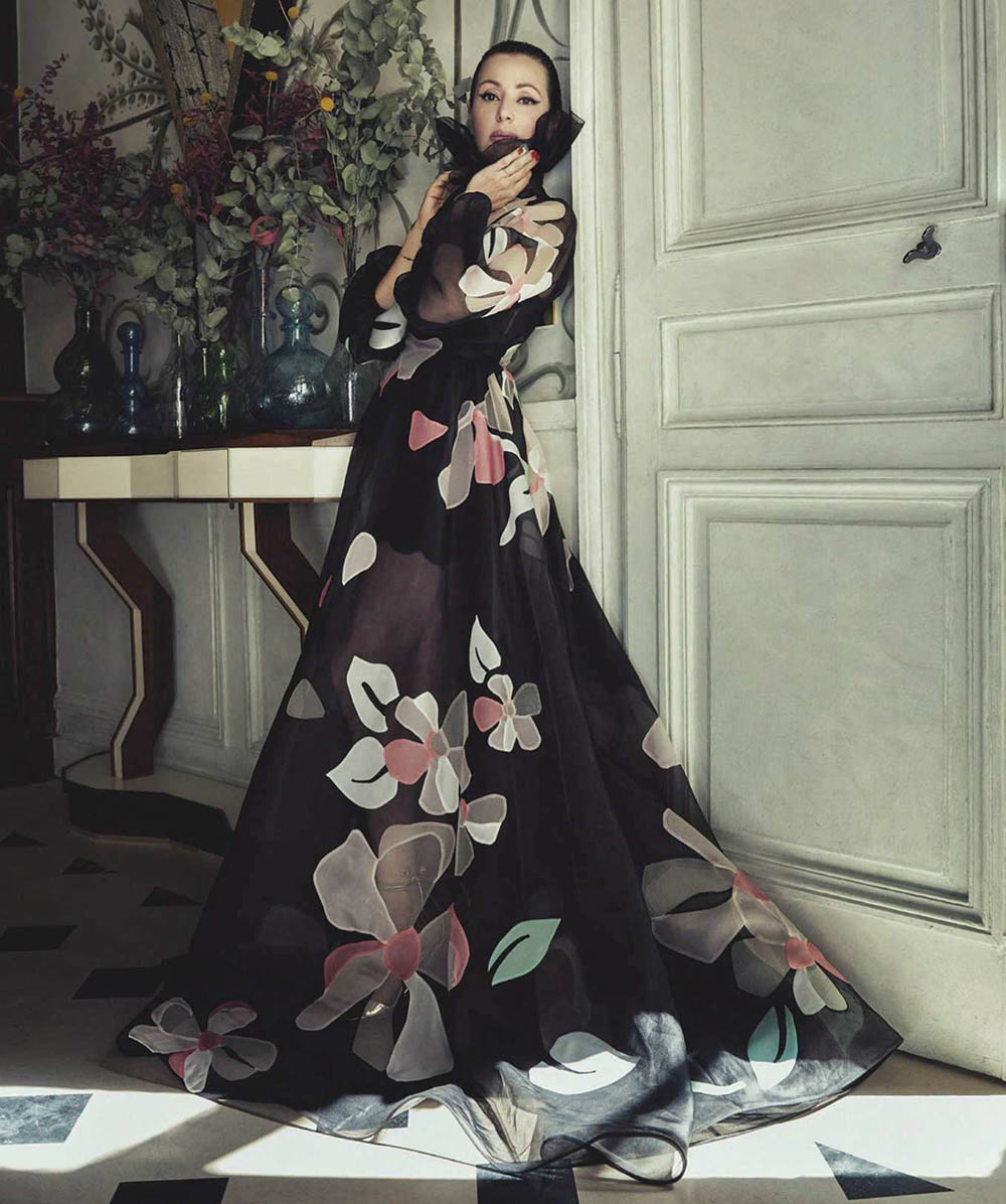 Tina Arena by Sofia Sanchez & Mauro Mongiello for Vogue Australia August 2018