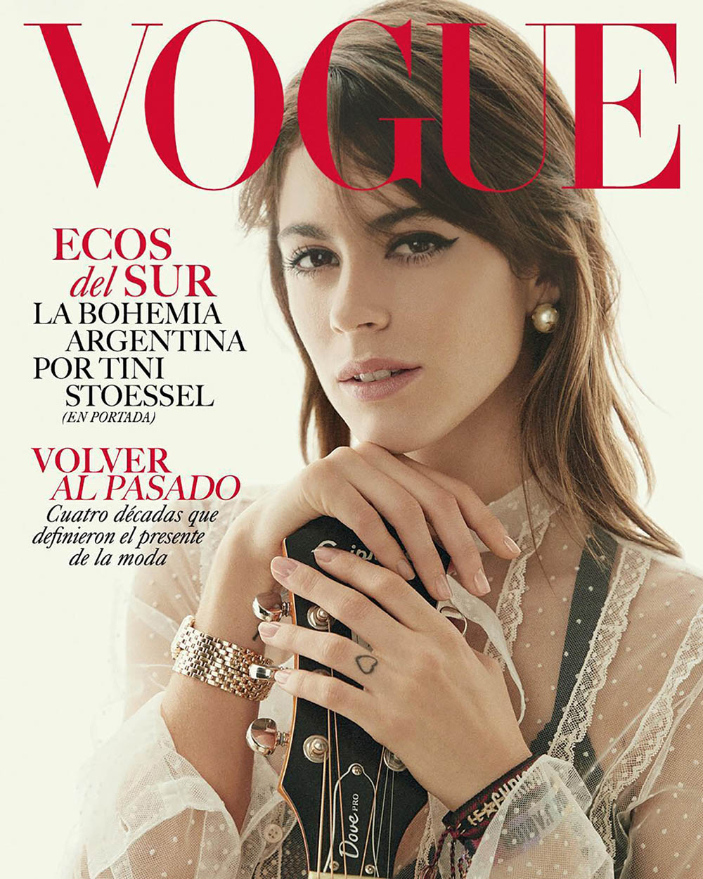 Tini Stoessel covers Vogue Latin America August 2018 by Victor Demarchelier