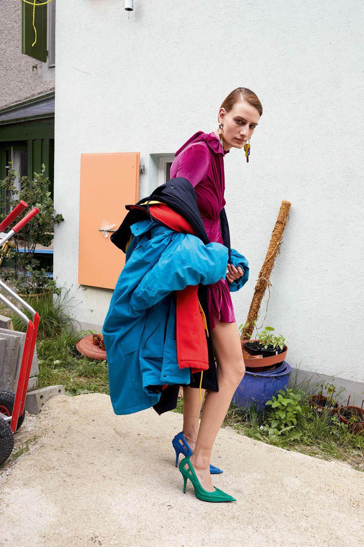 Veronika Kunz by Juergen Teller for Vogue Paris August 2018