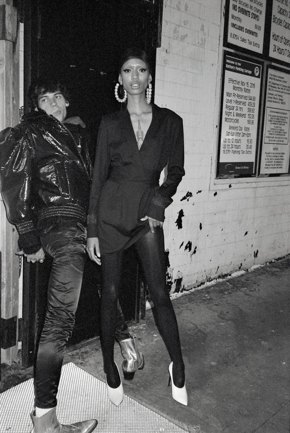 Adesuwa Aighewi and Tyler Blue by Cameron McCool for Numéro September 2018