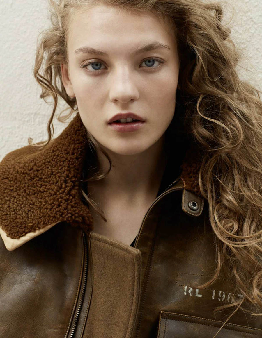 Agnes Akerlund by Lydia Gorges for Elle Russia September 2018