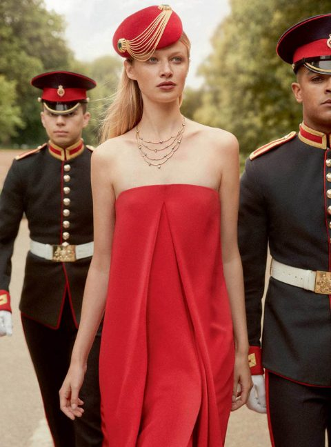 Anna Lund by Richard Phibbs for Harper's Bazaar UK September 2018