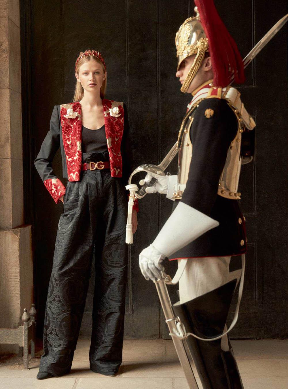 Anna Lund by Richard Phibbs for Harper's Bazaar UK September 2018