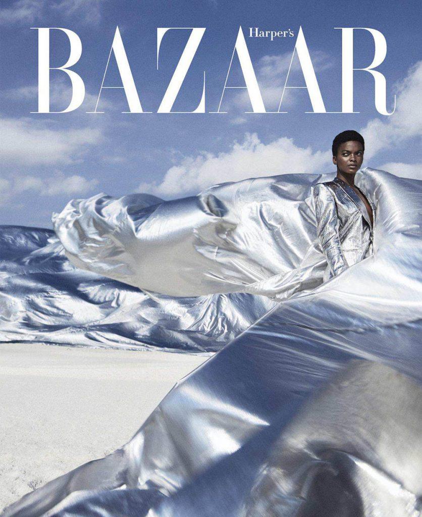 Aube Jolicoeur by Txema Yeste for Harper's Bazaar US September 2018