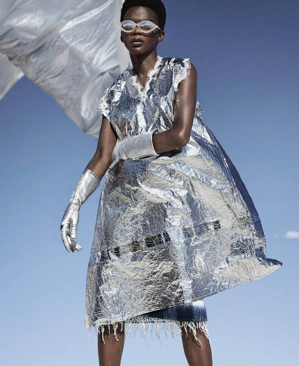 Aube Jolicoeur by Txema Yeste for Harper's Bazaar US September 2018
