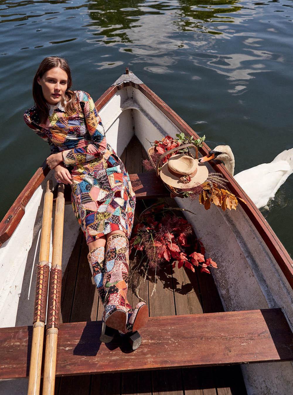 Charlotte Wiggins by Josh Shinner for Town & Country UK September 2018