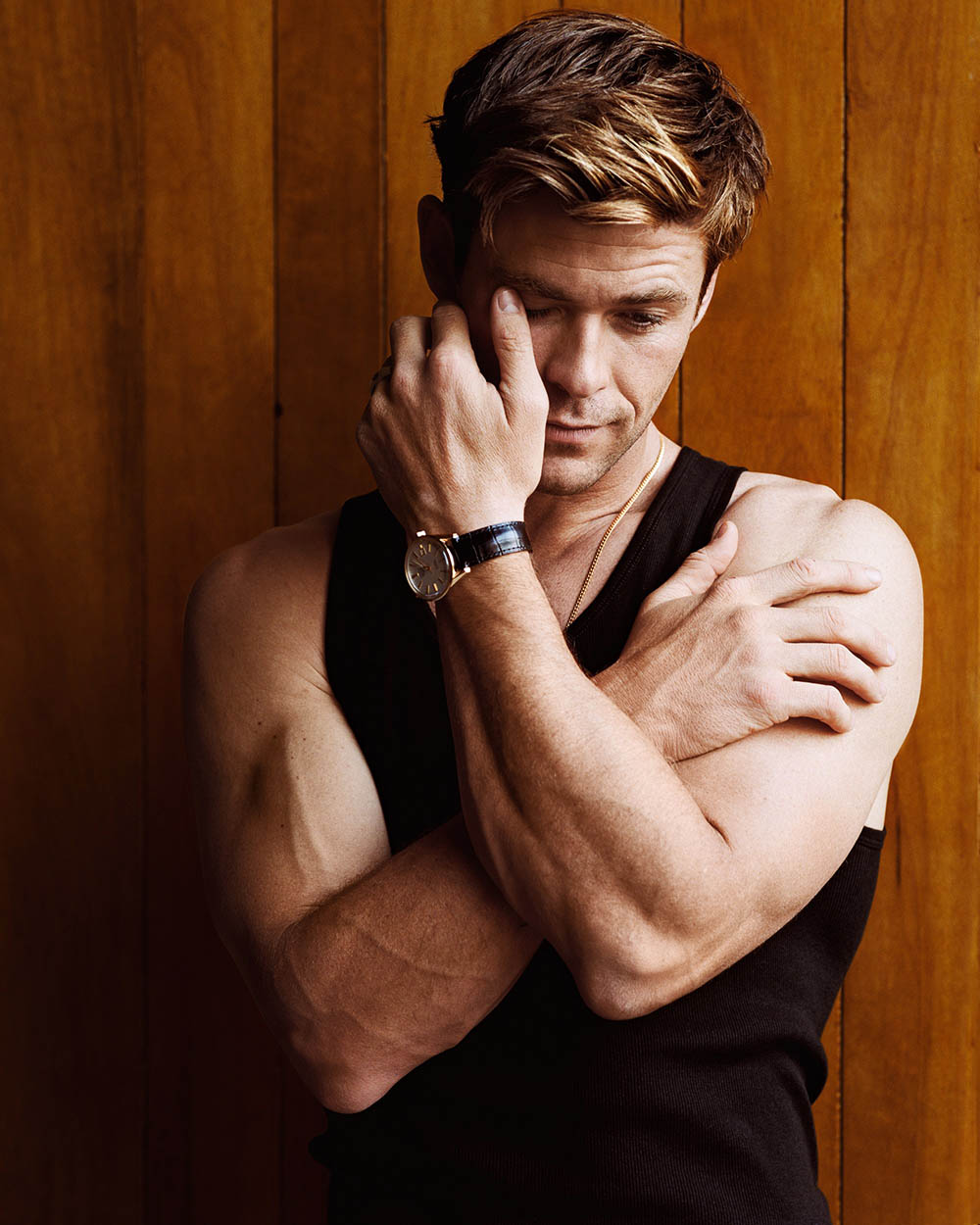 Chris Hemsworth covers GQ USA September 2018 by Alasdair McLellan