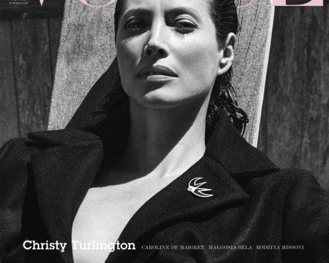 Christy Turlington covers Vogue Poland September 2018 by Chris Colls