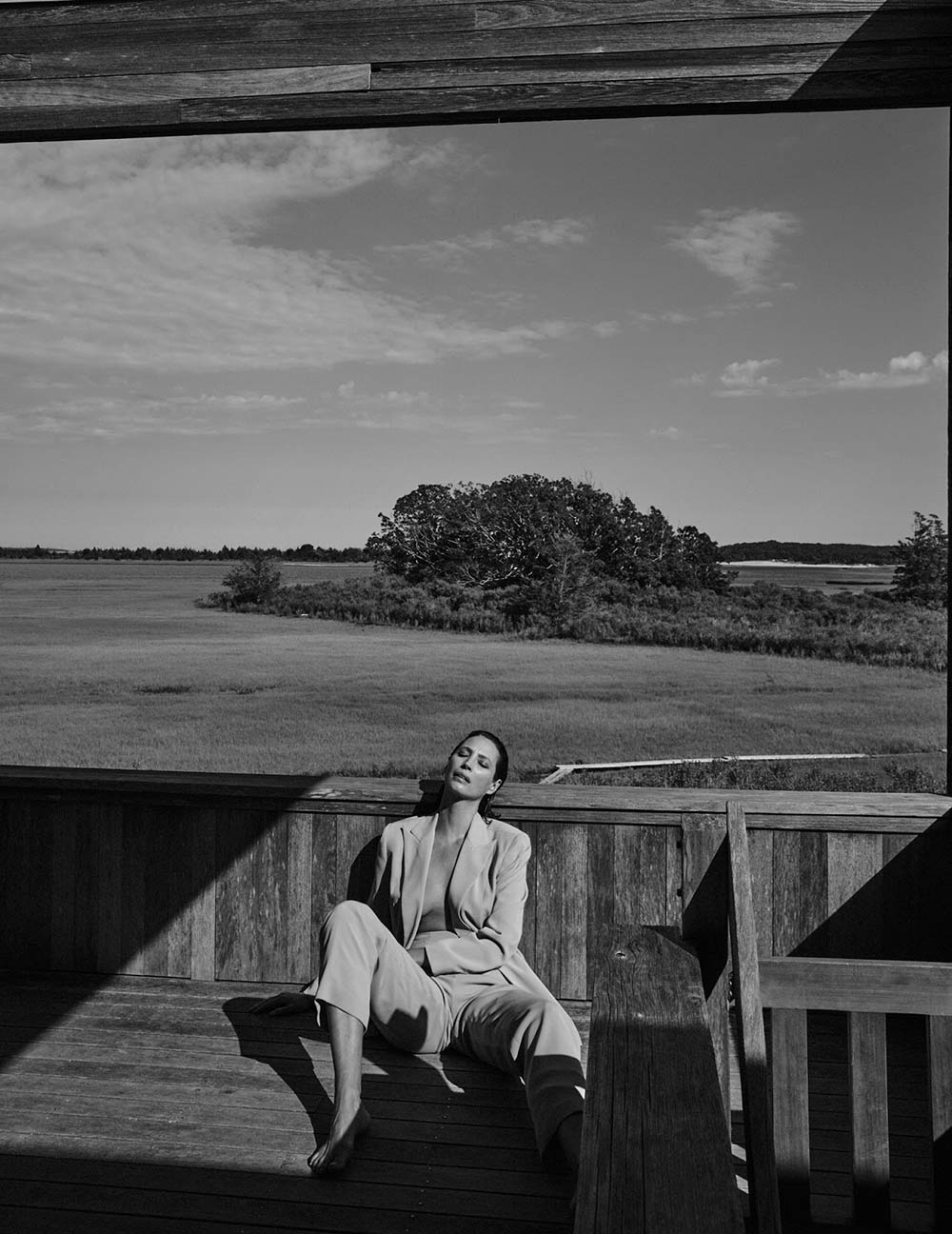 Christy Turlington covers Vogue Poland September 2018 by Chris Colls