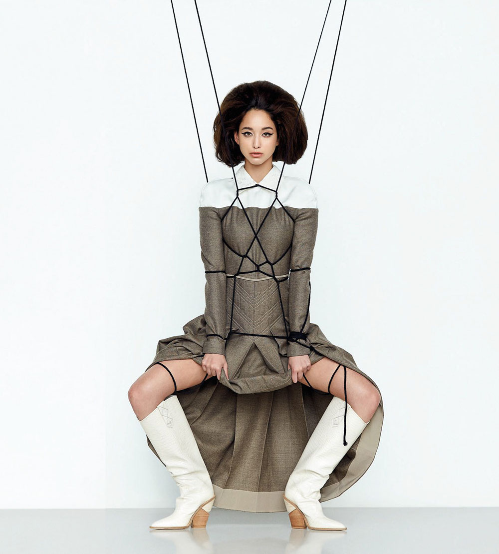 Dana Slosar by Tada Varich for Vogue Thailand September 2018