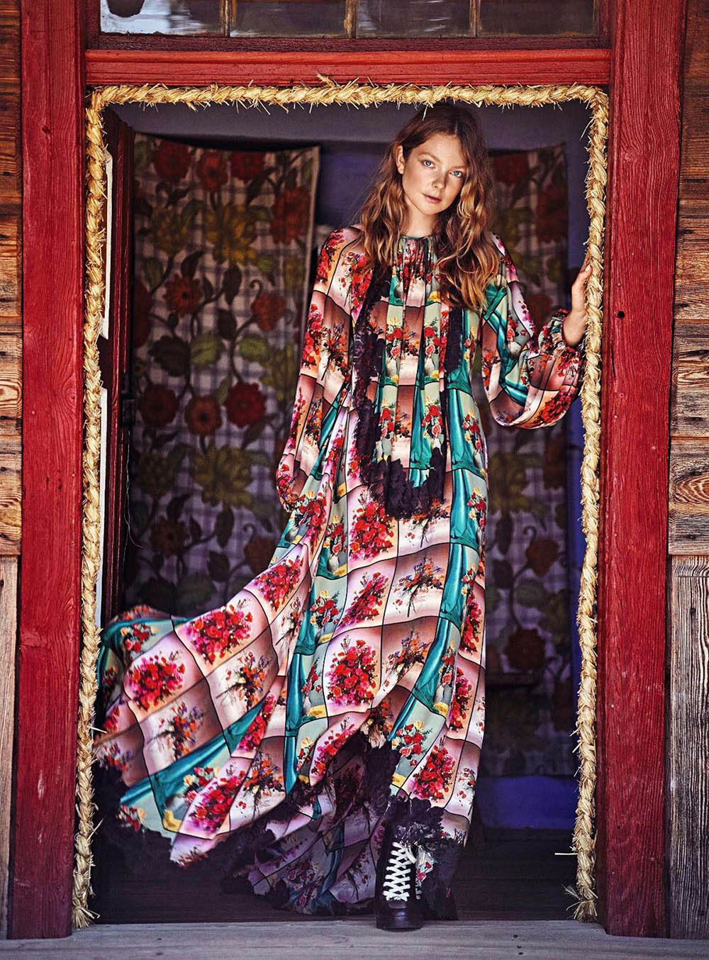 Eniko Mihalik by Marcin Tyszka for Harper's Bazaar Germany September 2018