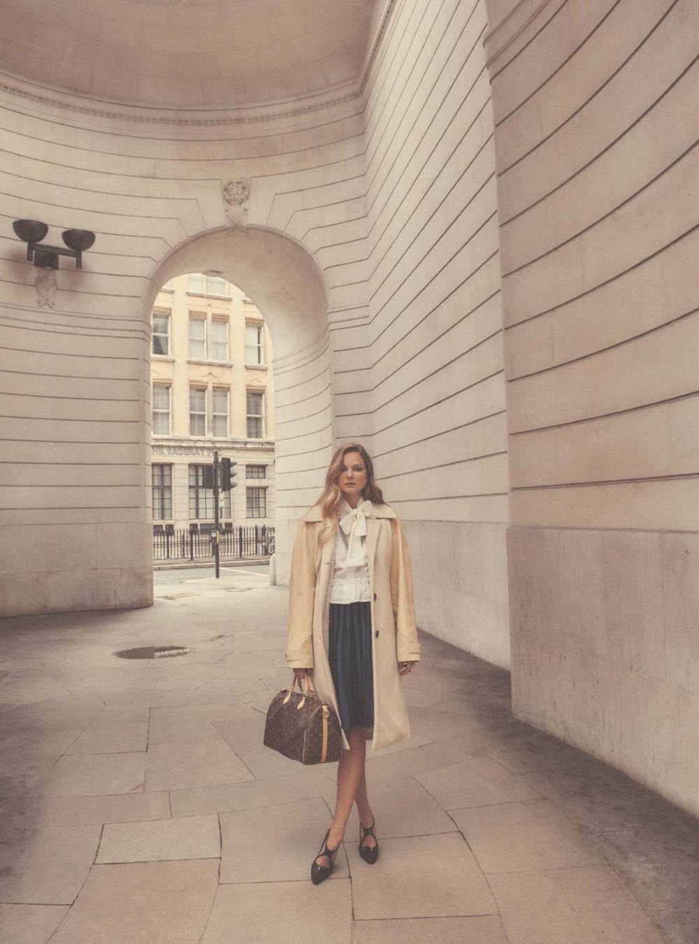 Eniko Mihalik by Regan Cameron for Harper's Bazaar UK September 2018