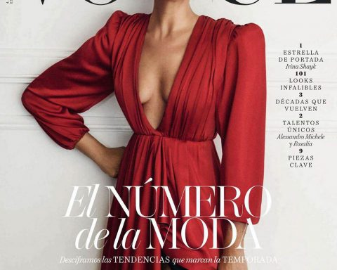 Irina Shayk covers Vogue Spain September 2018 by Giampaolo Sgura